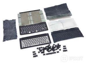 Desmontagem do Smart Keyboard