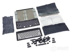 Desmontagem do Smart Keyboard