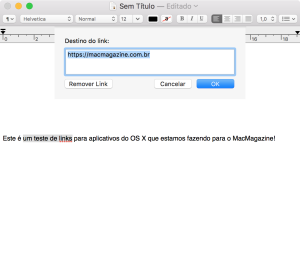 Criando diferentes links no OS X