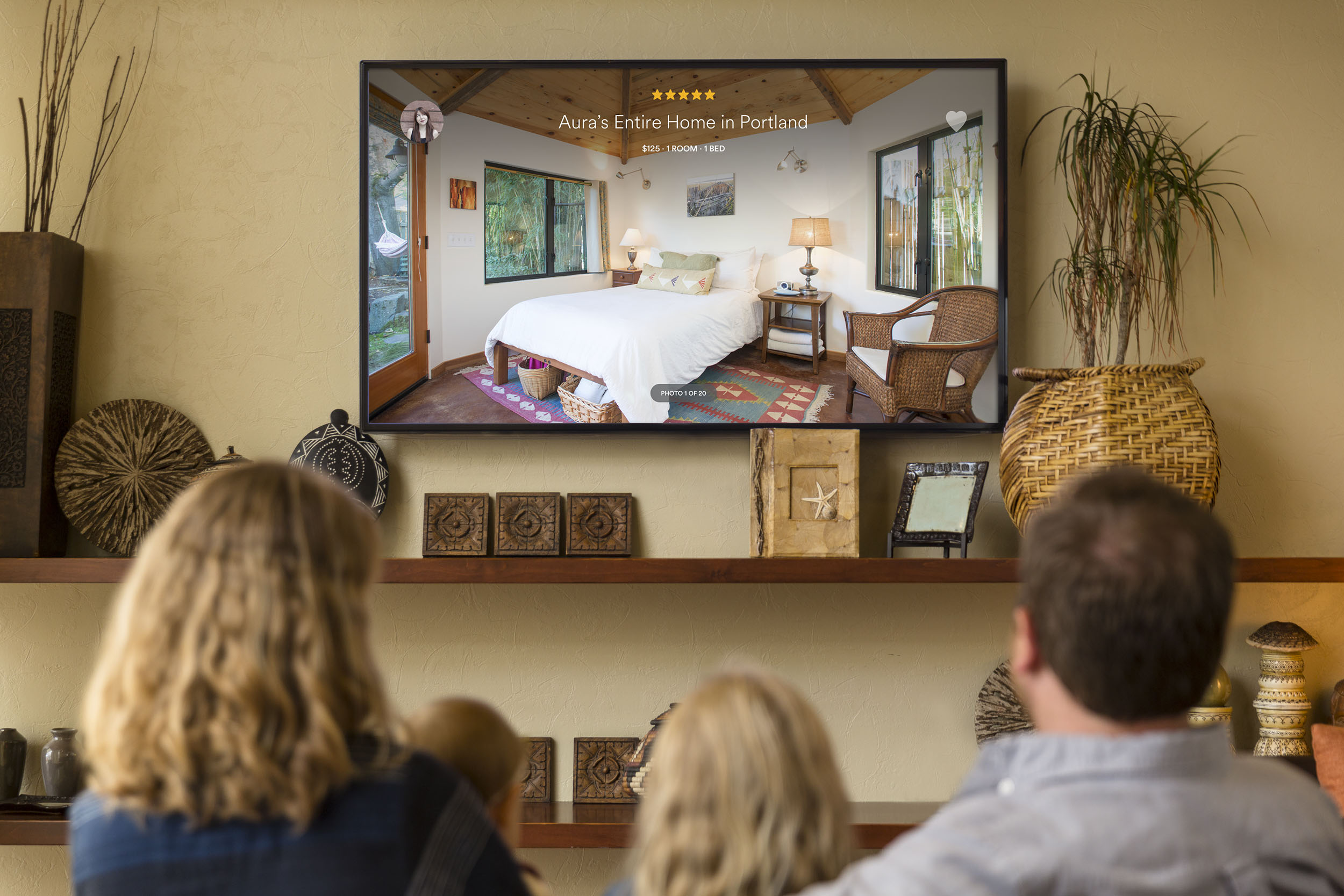 Airbnb na Apple TV