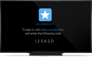 Digits do Twitter na nova Apple TV