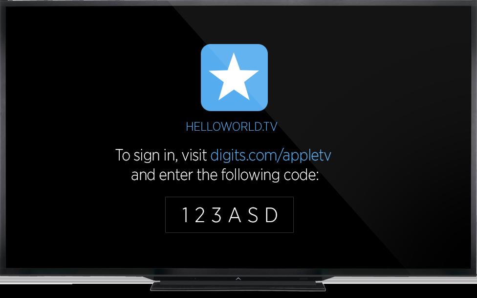 Digits do Twitter na nova Apple TV