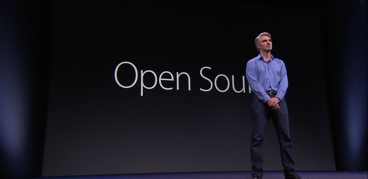 Craig Federighi e Swift open source