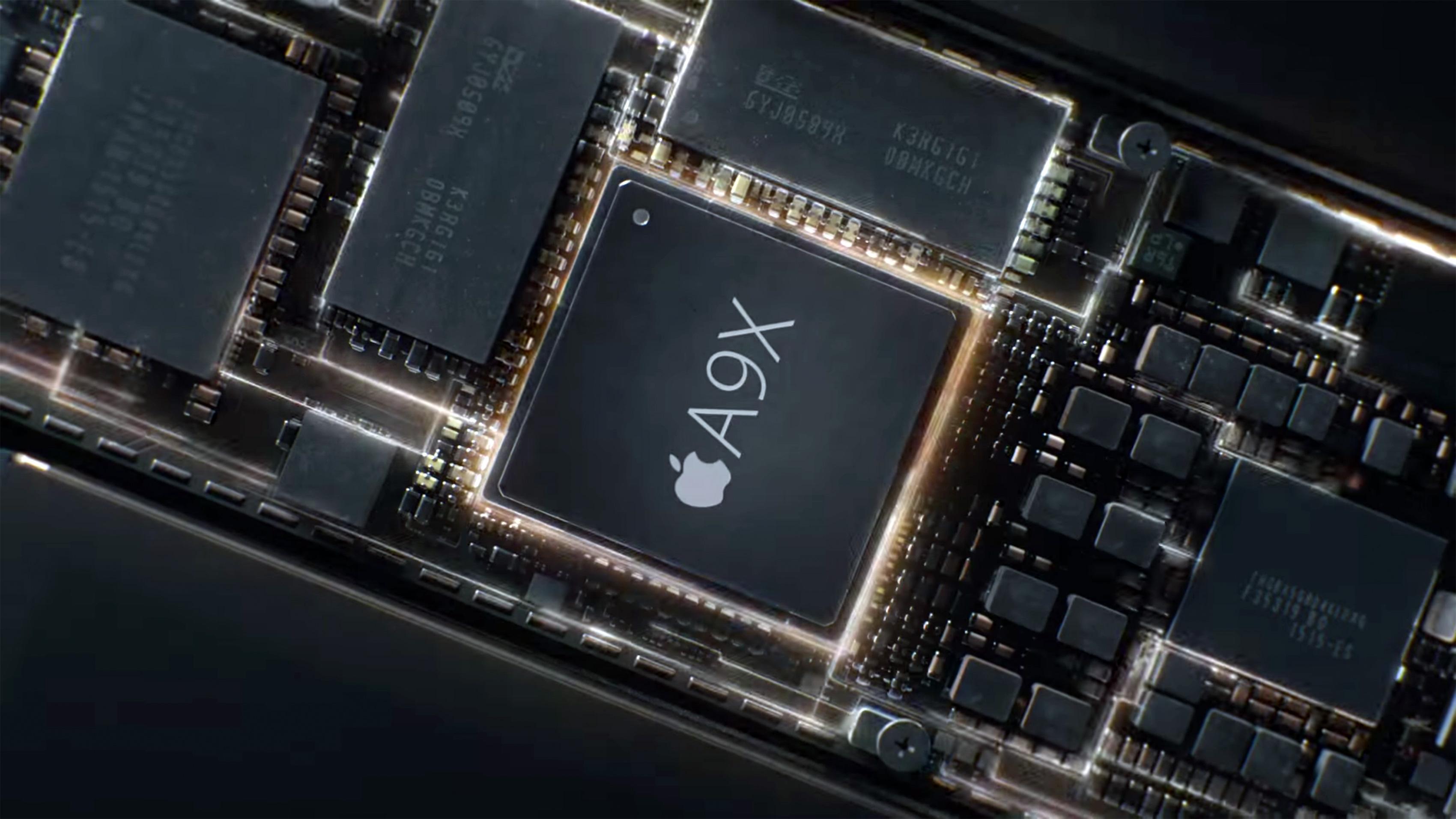 Chip A9X do iPad Pro