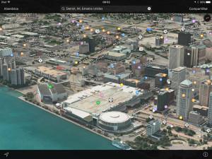 Flyover de Detroit