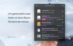 App CleanMyDrive 2 para OS X