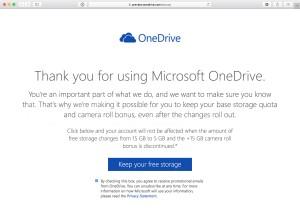 Oferta do OneDrive