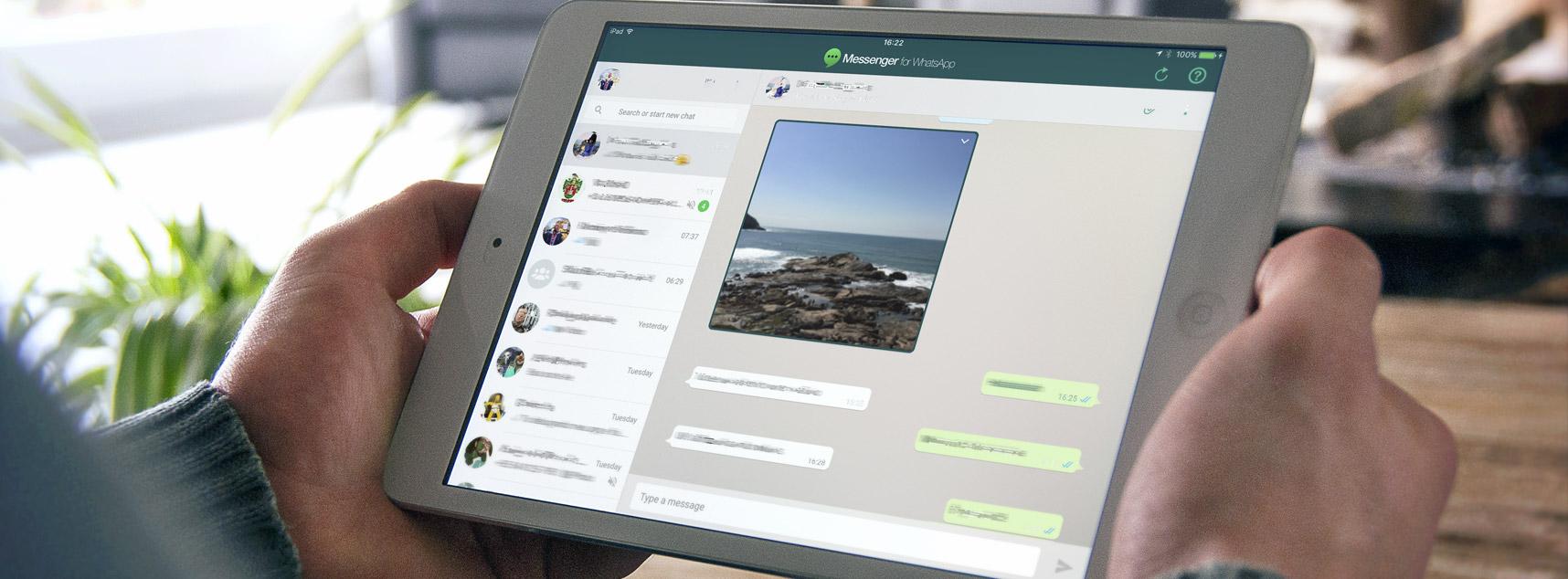 Messenger para WhatsApp