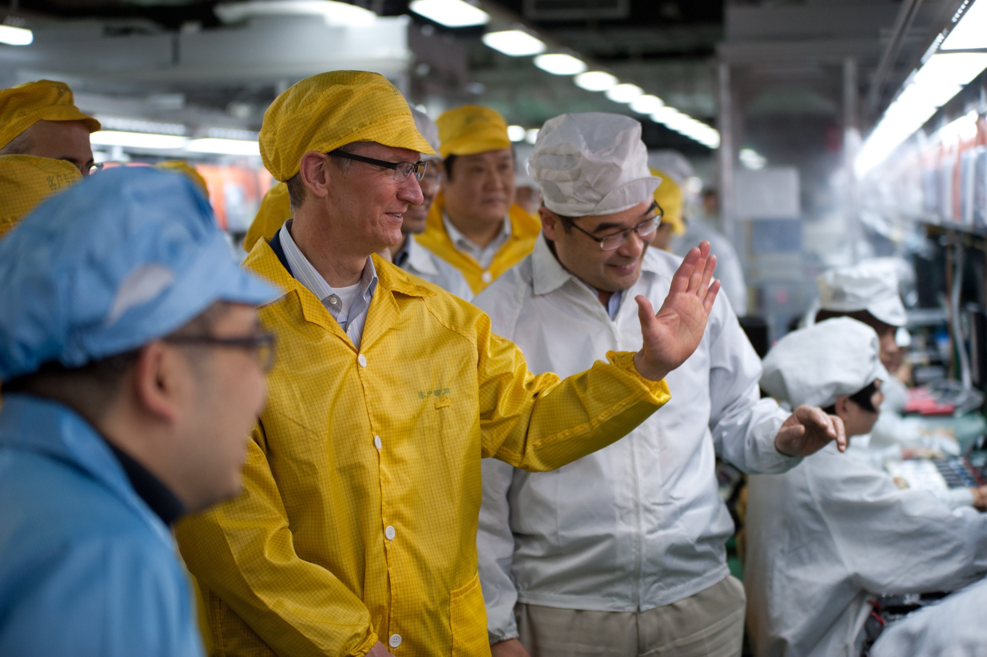 Tim Cook na China