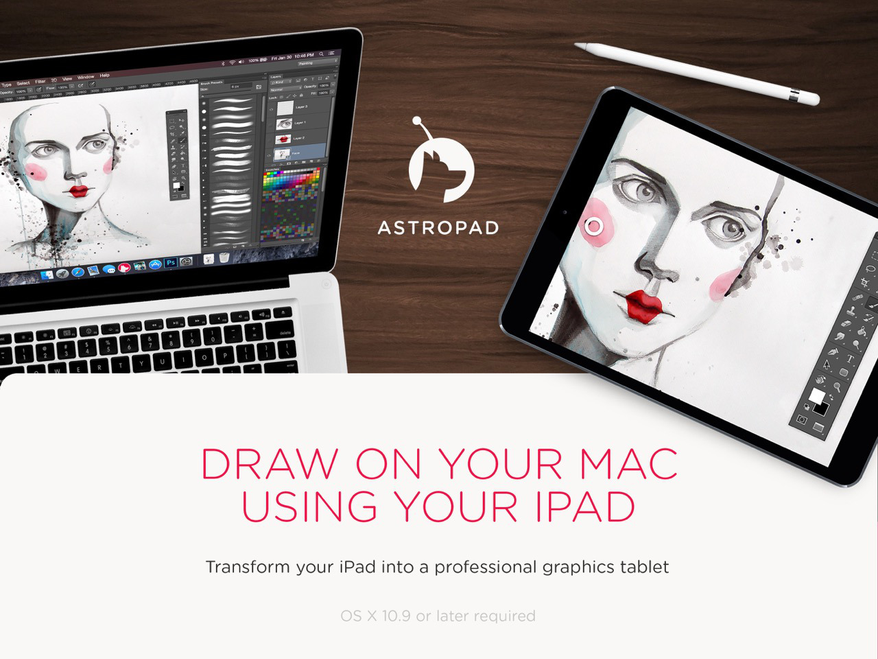 Astropad para iPad