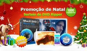 Promoção do MacX DVD Ripper Pro