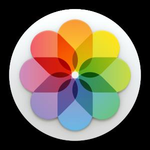 Ícone - Fotos do OS X