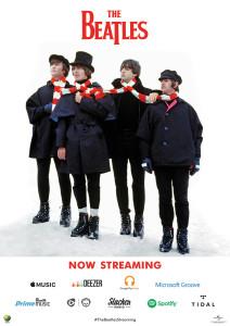 The Beatles agora em serviços de streaming de músicas