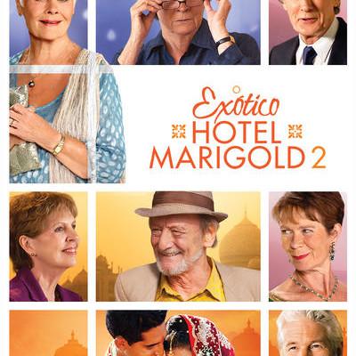 """Pôster do filme """"O Exótico Hotel Marigold 2"""""""