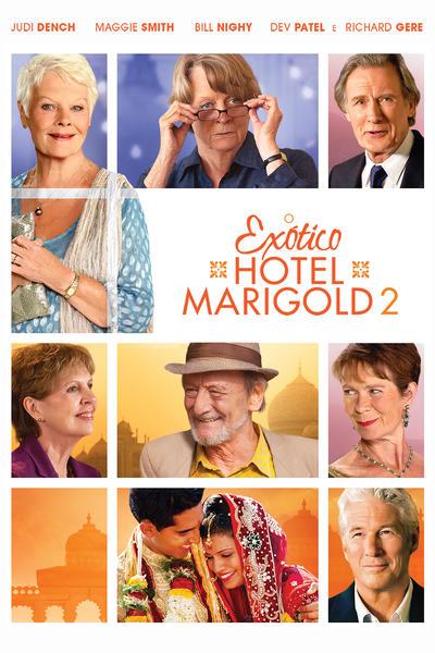 Pôster do filme - O Exótico Hotel Marigold 2