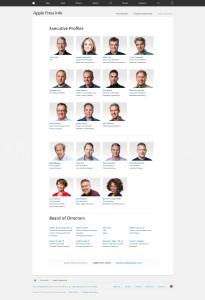 Equipe executiva da Apple