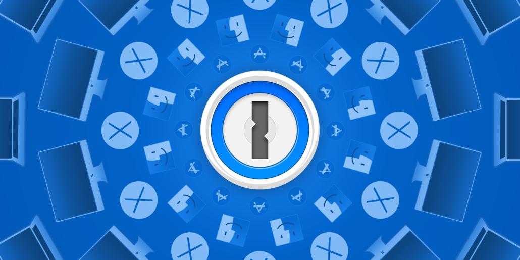 Imagem promocional do app 1Password