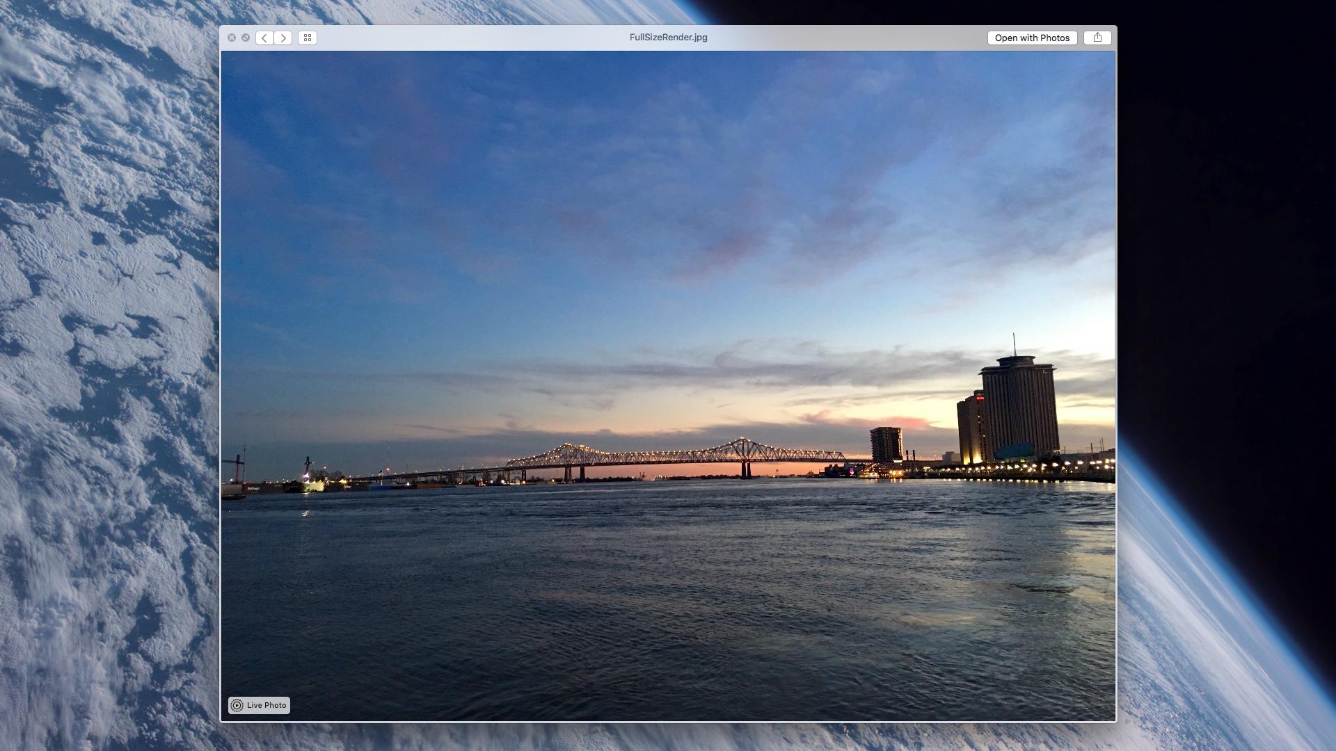 Live Photos no Mensagens (OS X 10.11.4)