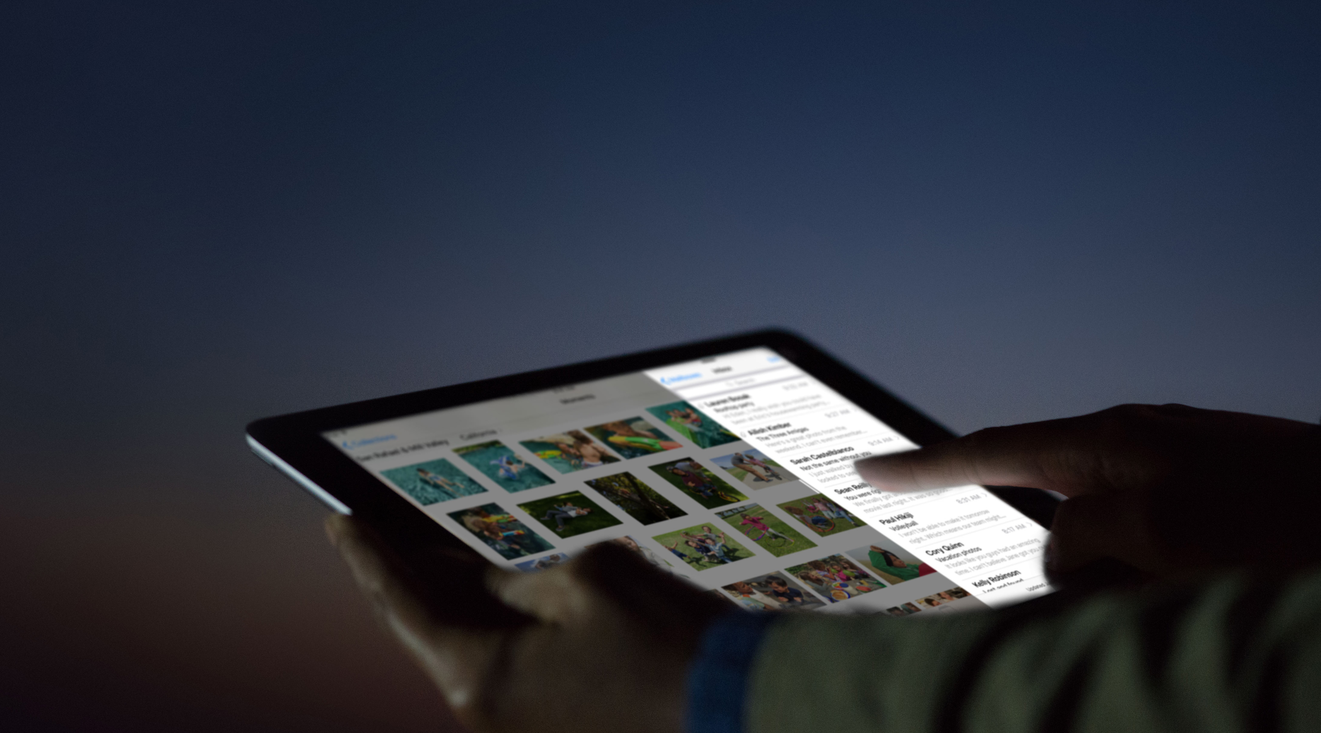 Recurso Night Shift do iOS 9.3