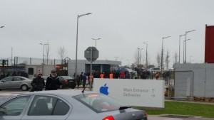 Campus da Apple sendo evacuado na Irlanda