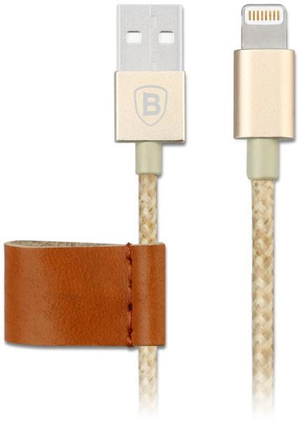 Cabo metálico Lightning/USB com certificação MFi, da Baseus