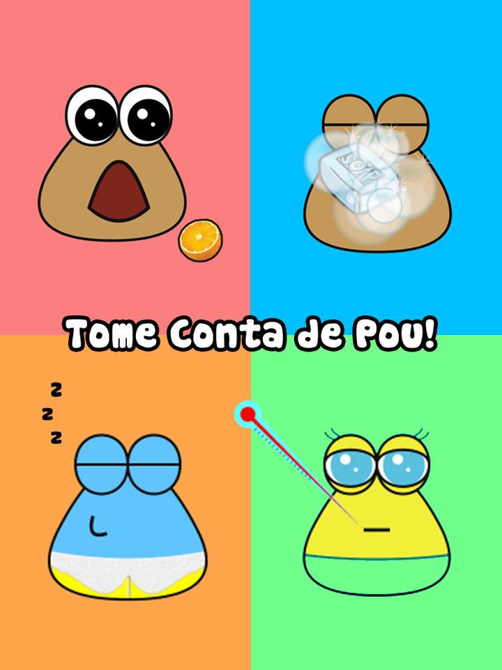 Jogo Pou para iOS