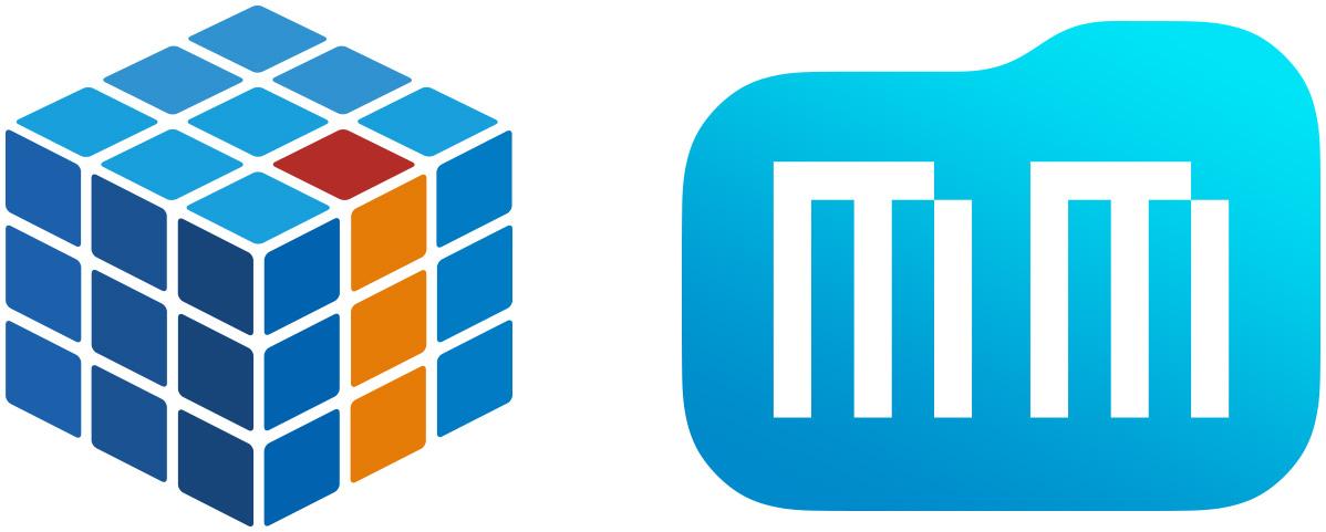 Logos do iMasters e do MacMagazine