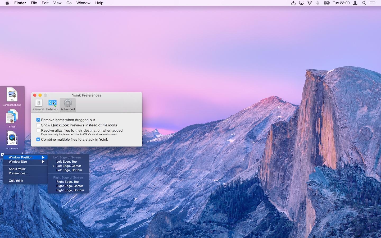 App Yoink para macOS