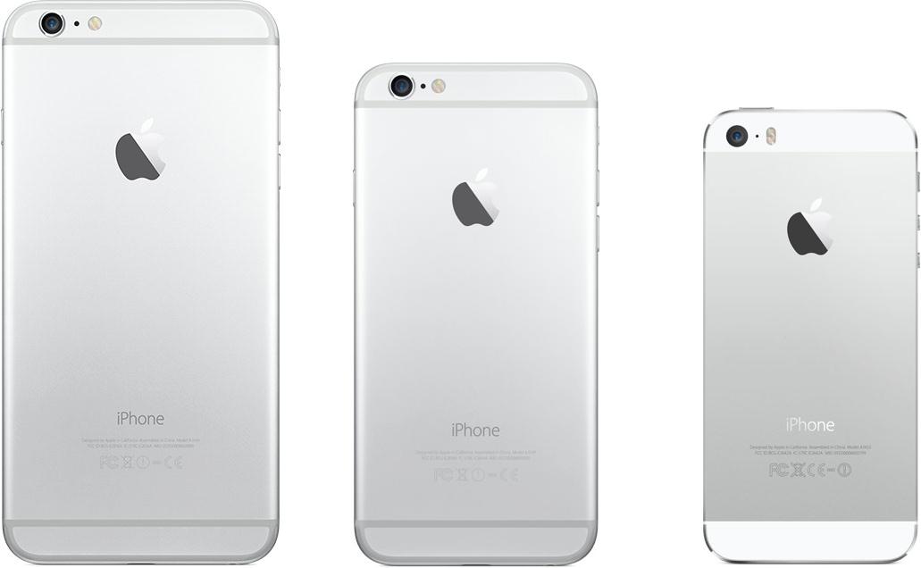 iPhones lado a lado