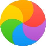 """""""Bola de Praia Giratória da Morte®"""" do OS X"""