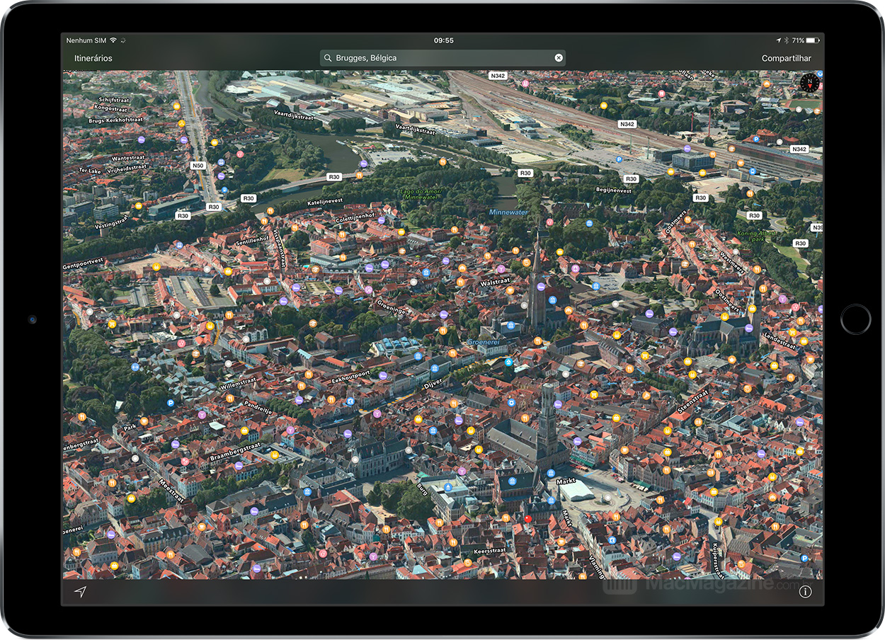 Flyover na Bélgica (iPad Pro)
