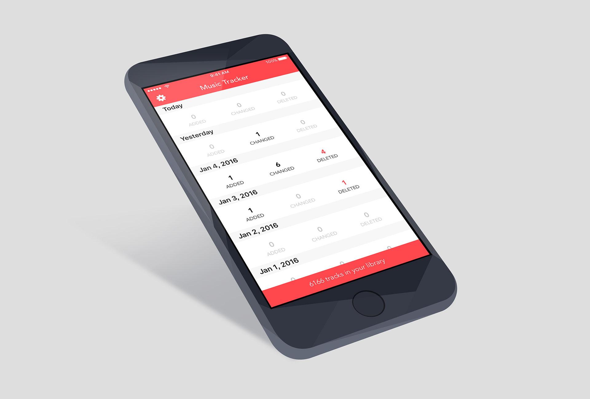 App Music Tracker