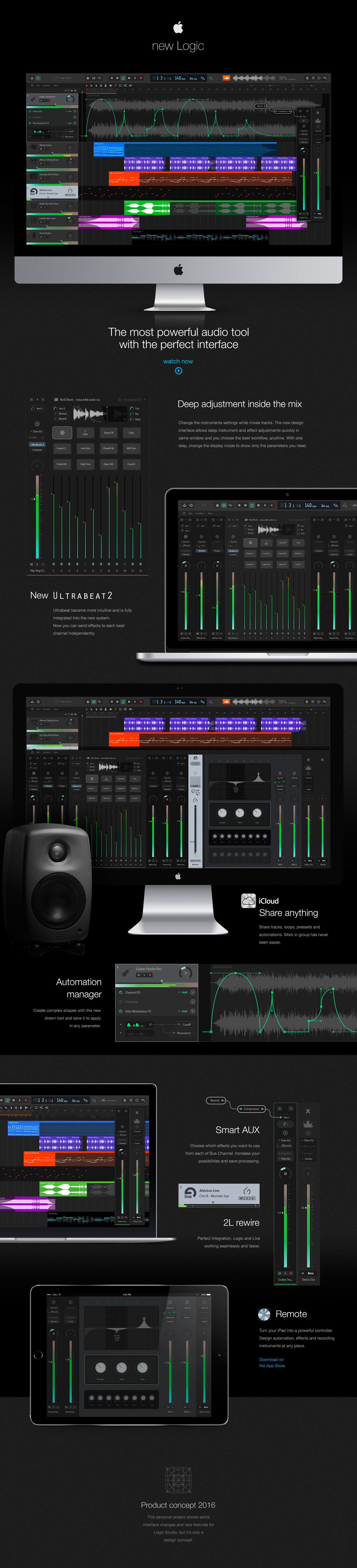Conceito do Logic Pro