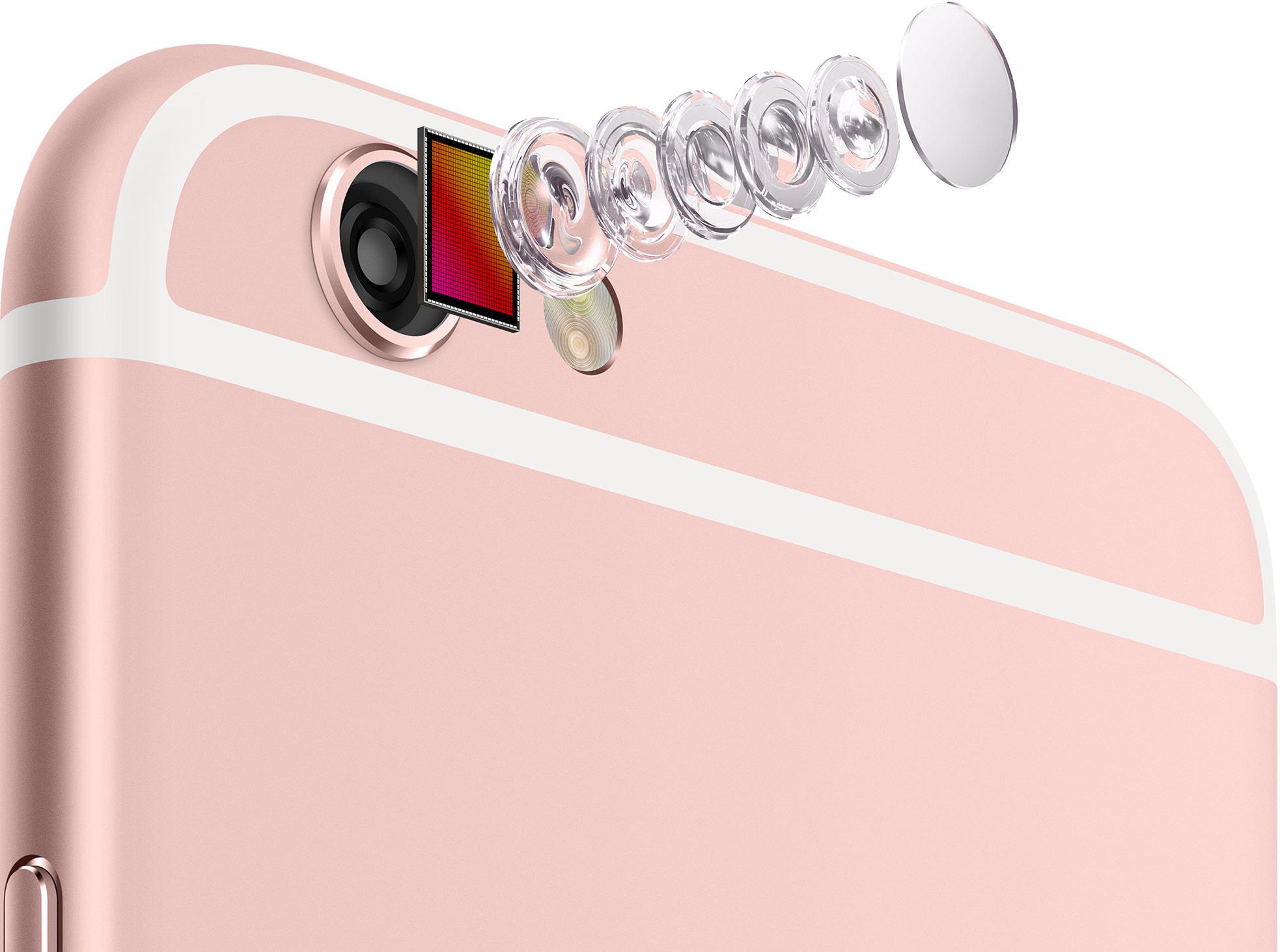 Câmera iSight (traseira) do iPhone 6s