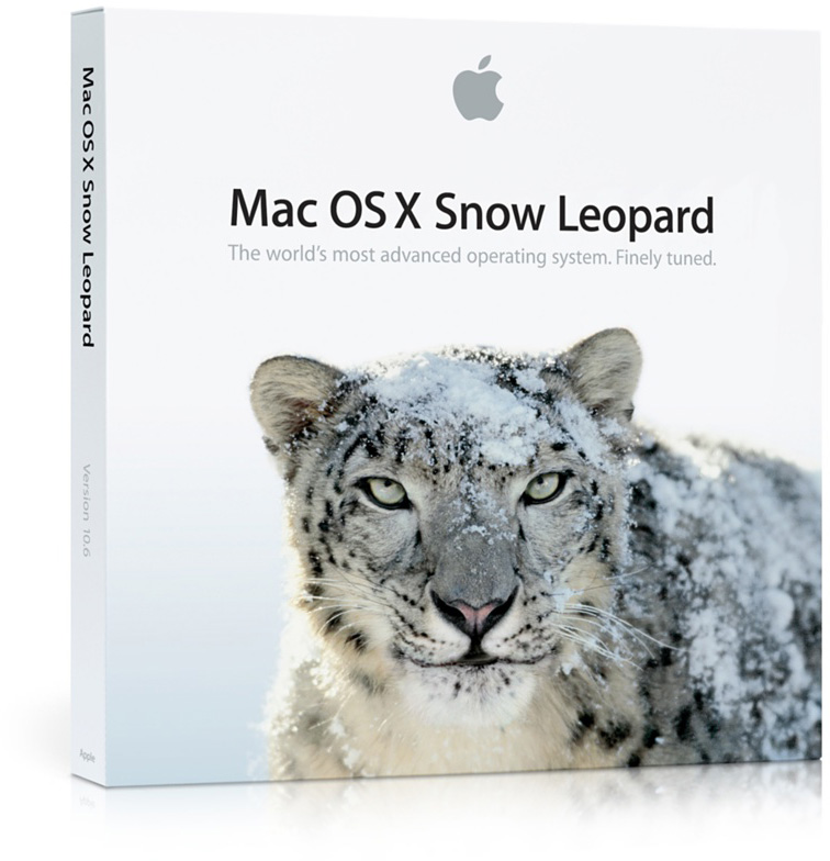 Caixa do Mac OS X Snow Leopard 10.6