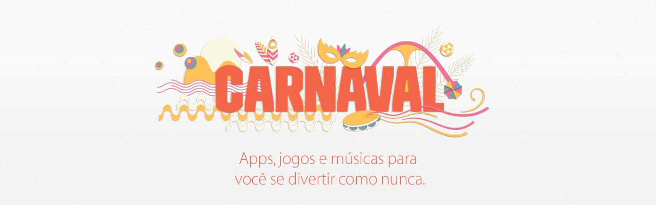 Carnaval nas lojas da Apple