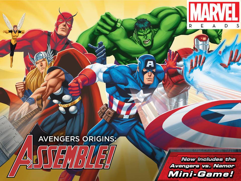 Jogo Avengers Origins: Assemble! para iOS
