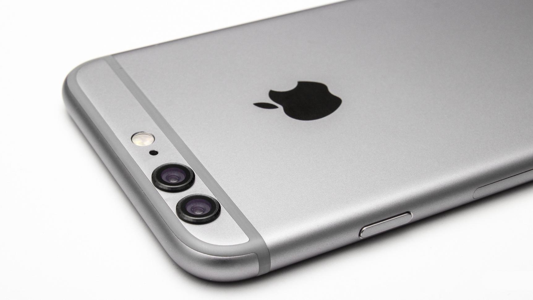 iPhone com duas câmeras