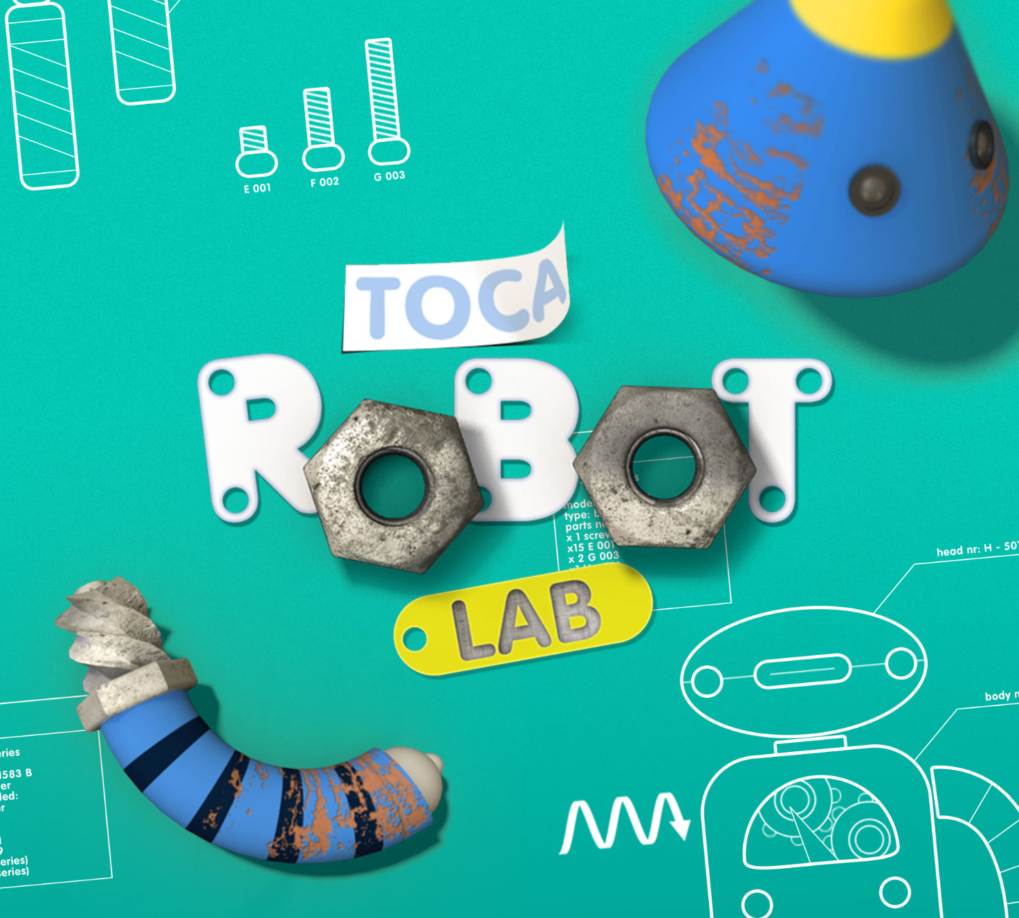 Toca Robot Lab para iOS