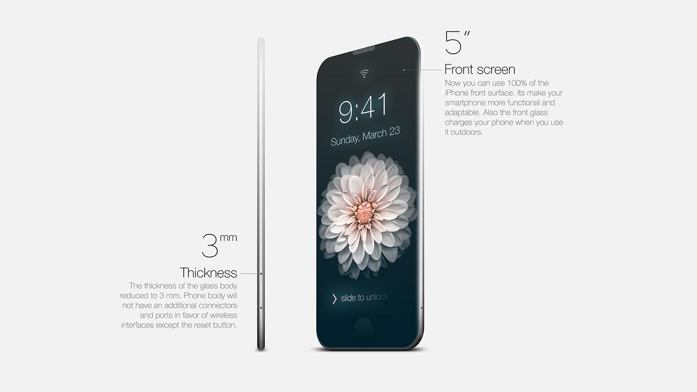 Conceito de iPhone Essence