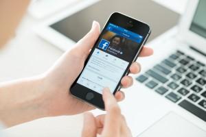 Usando o Facebook no iPhone