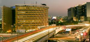 Centro tecnológico em Hyderabad, na Índia