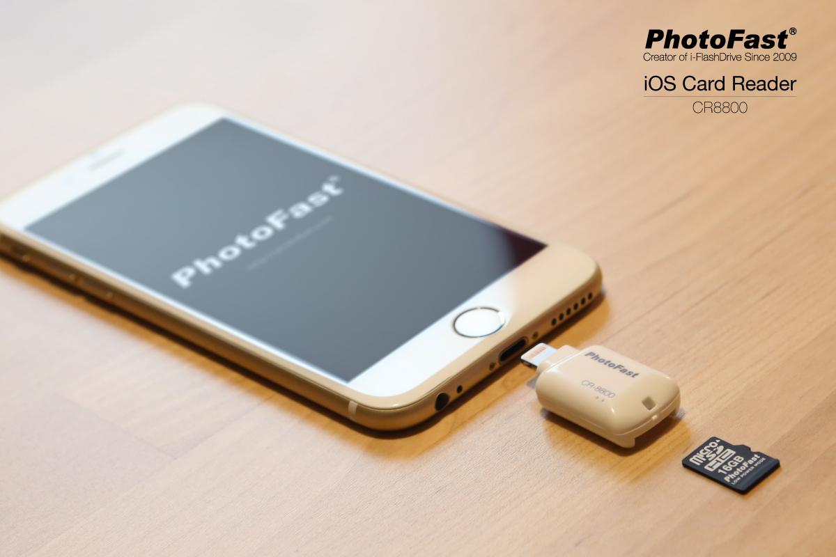 """iOS Card Reader, da PhotoFast, é uma """"pequena grande"""" solução para quem precisa de espaço"""