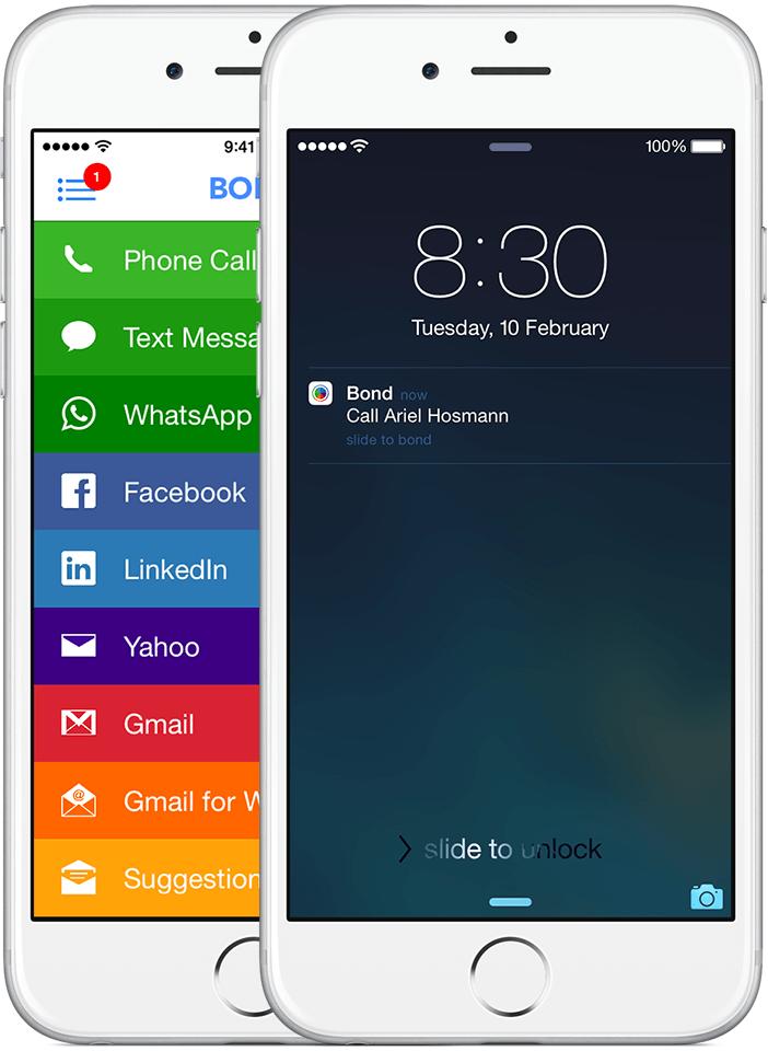 App Bond para iOS