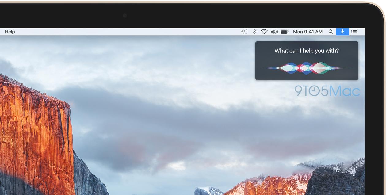 Siri no Mac