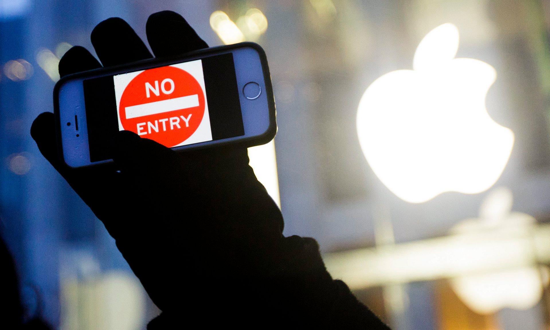 Protesto (Apple vs. FBI)
