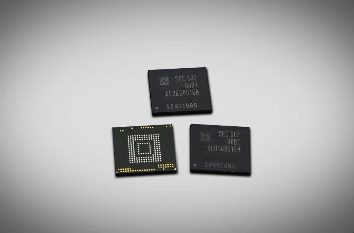 Memória de 256GB da Samsung