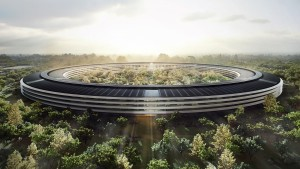 Obra do Apple Campus 2