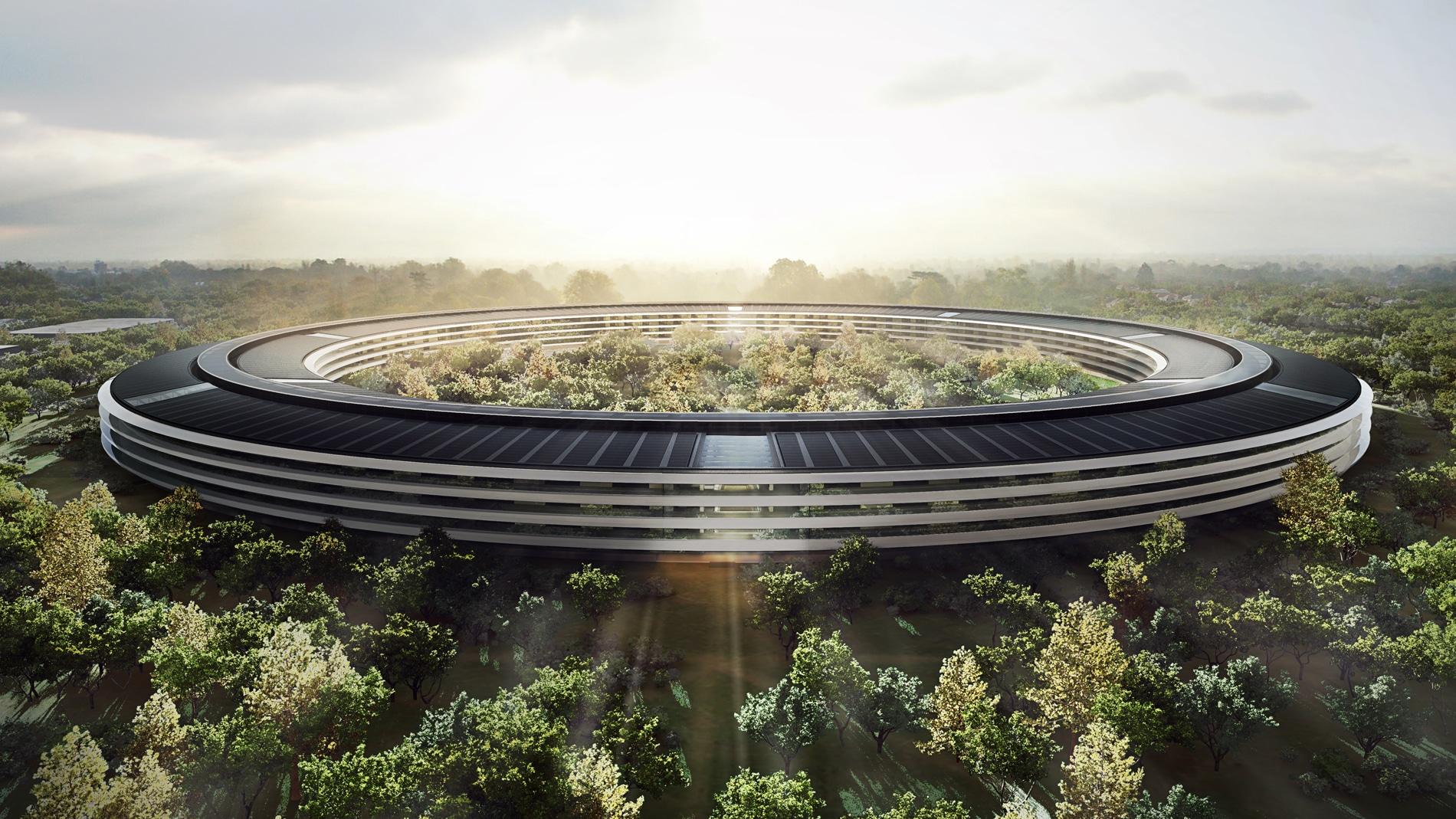 Obra do Apple Campus 2