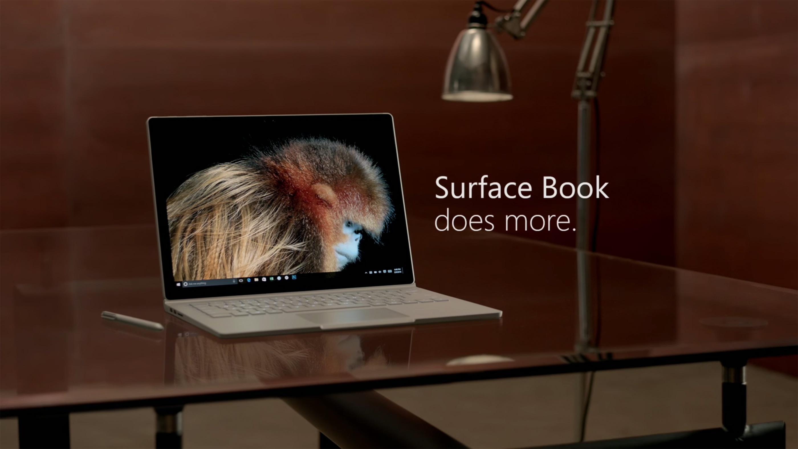 Comercial do Microsoft Surface Book